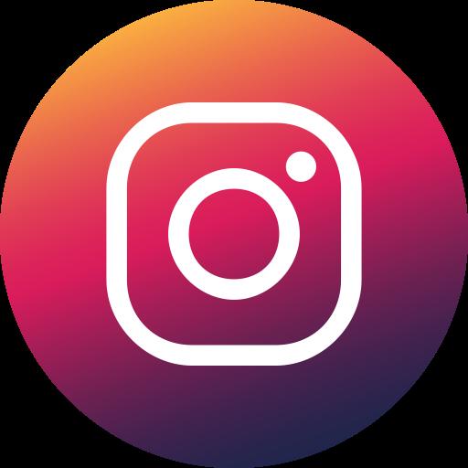 Circle, Colored, Gradient, Instagram, Media, Social, Social Media Icon