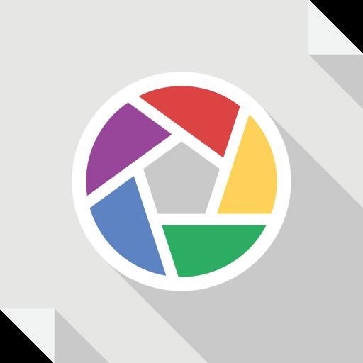 Social Media Picasa Flat Icon