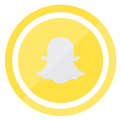 Social Media Snapchat Khaki Icon