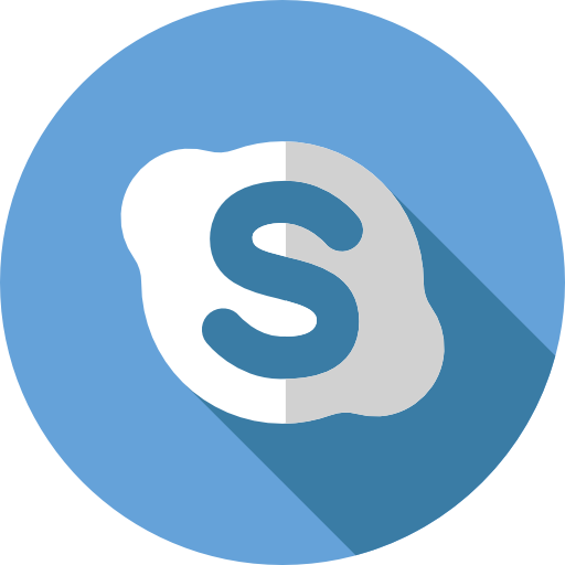 Skype Free Social Media Icons Logo Image