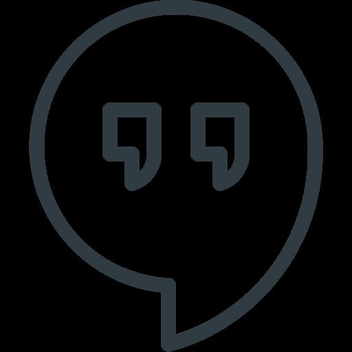 Hangout, Media, Logo, Social Icon