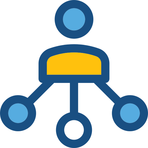Networking Social Network Png Icon
