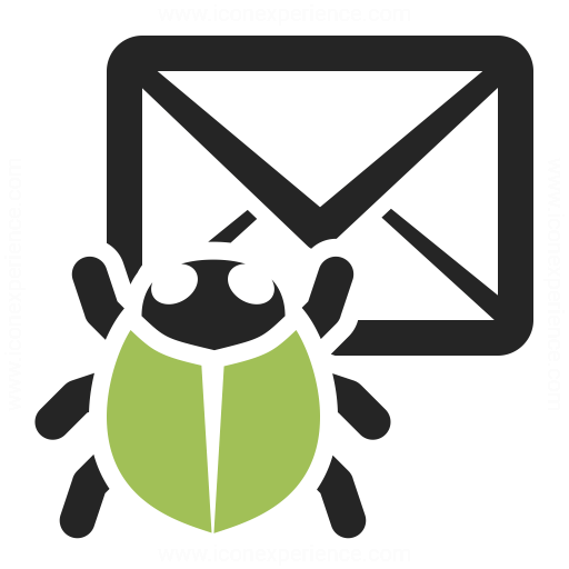 Mail Bug Icon Iconexperience