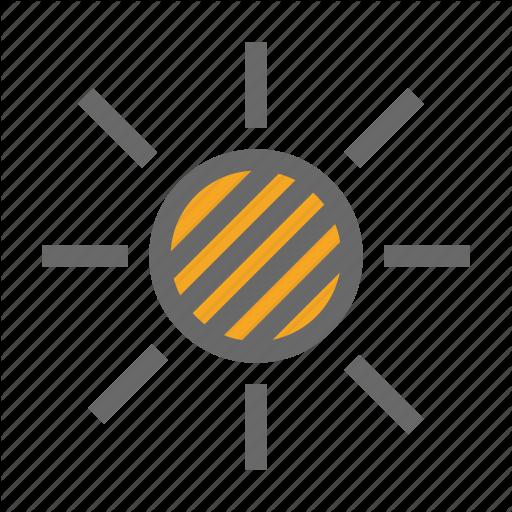 Darken, Eclipse, Solar Eclipse, Sun Icon