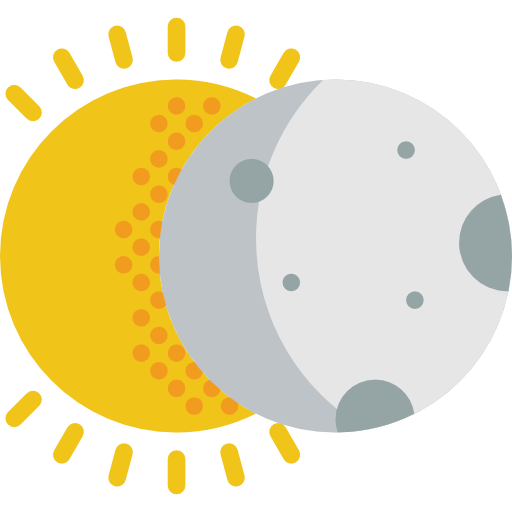 Partial, Covering, Partially, Eclipses, Moon, Sun, Weather