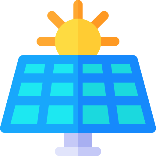 Solar Panel Icon Renewable Energy Freepik