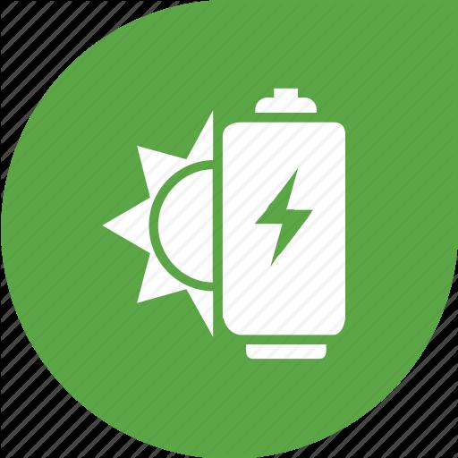 Battery, Eco, Green, Solar Icon