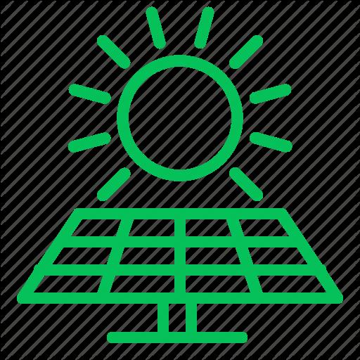 Ecology, Electric, Energy, Green, Panel, Solar Icon