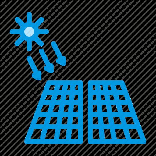 Electric, Energy, Panel, Solar Icon