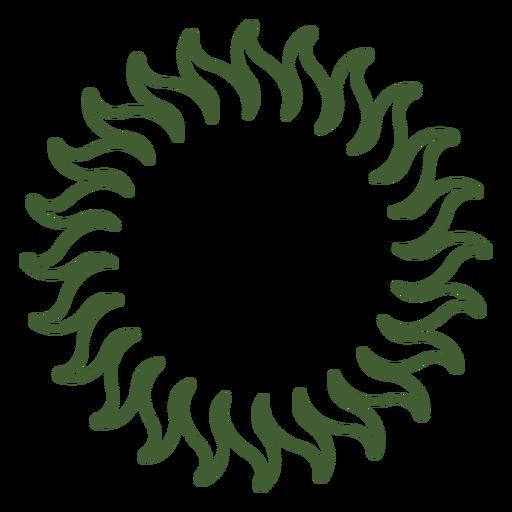 Solar Sun Icon