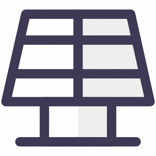 Energy, Panel, Solar Panels Icon
