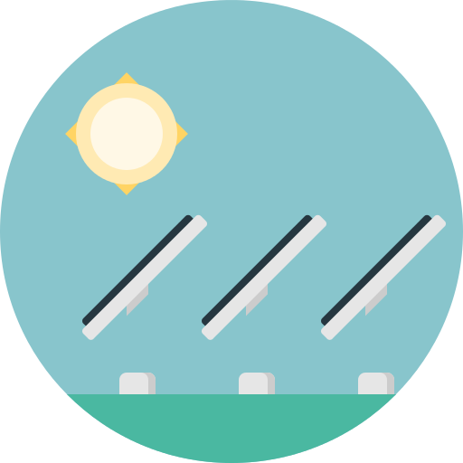 Solar Panels Png Icon