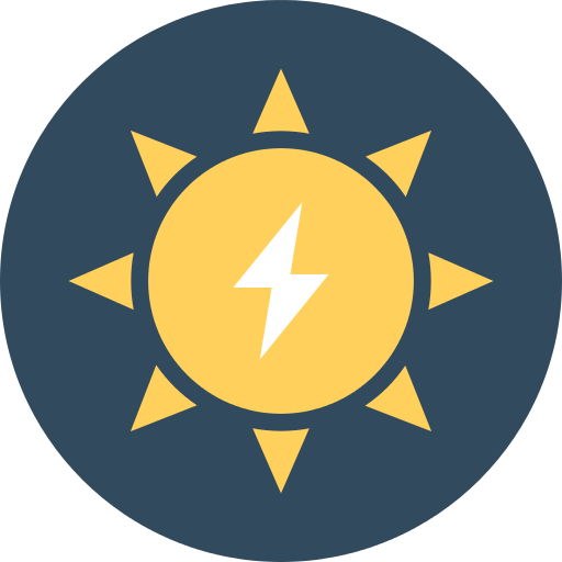 Solar Energy Power Png Icon