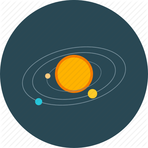 Astronomy, Solar, Space Planet, System Icon