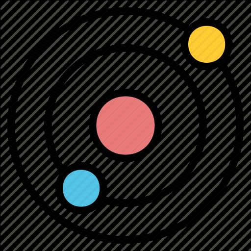 Copernican, Heliocentric, Orbit, Planetary, Solar, System Icon