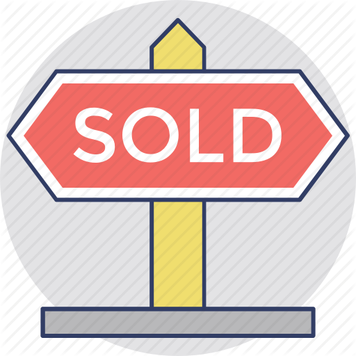 Commercial Estate Sign, Estate Signage, Sold Advertisement, Sold