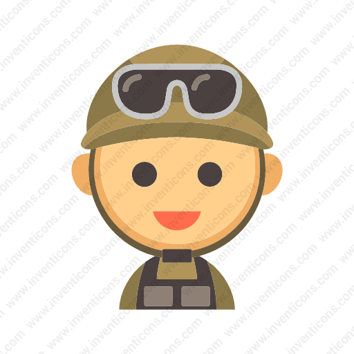 Download Soldier Icon Inventicons