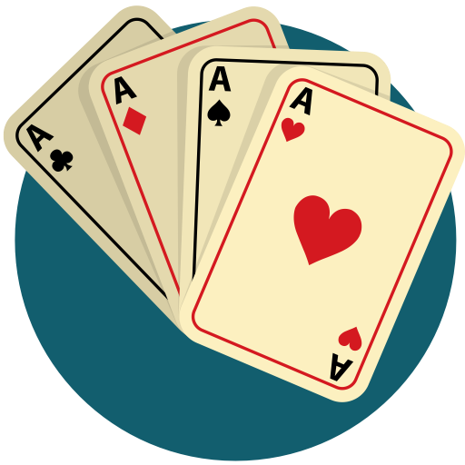 Cards, Gamble, Game, Play, Poker Icon