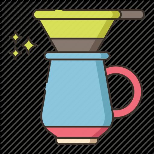 Brew, Drip, Drip Brew Icon