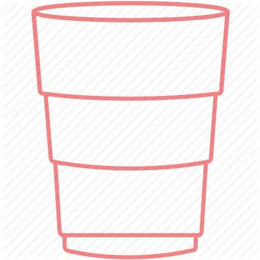 College, Cup, Outline, Party, Solocup Icon