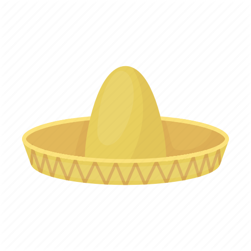Hat, Headdress, Headwear, Mex Sombrero Icon