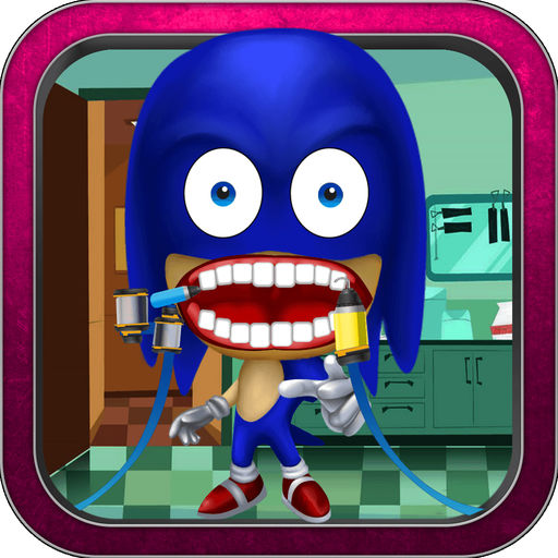 Funny Dentist Game For Sonic