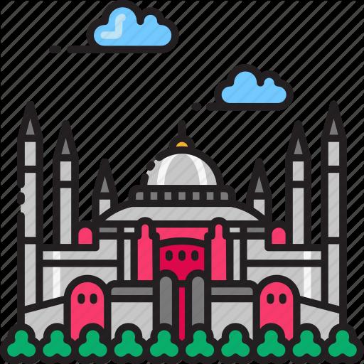 Basilica, Cathedral, Church, Hagia, Istanbul, Sophia, Turkey Icon