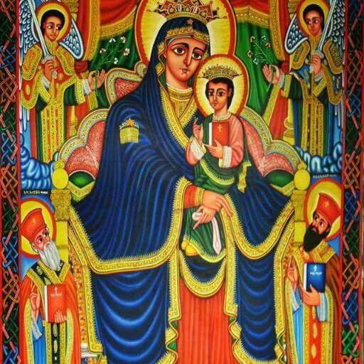 Ethiopian Orthodox Church Ethiopia Church Icon