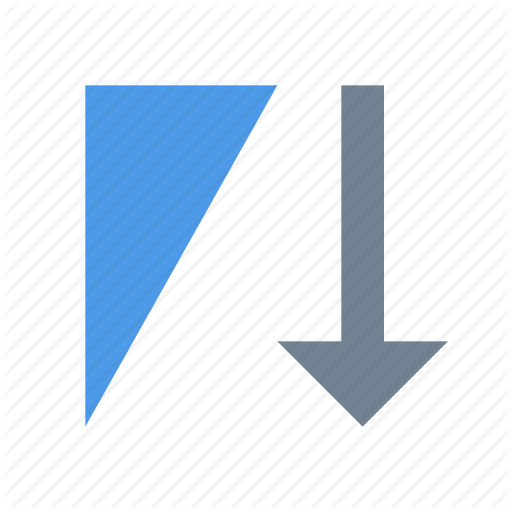 Descending, Filter, Sort Icon