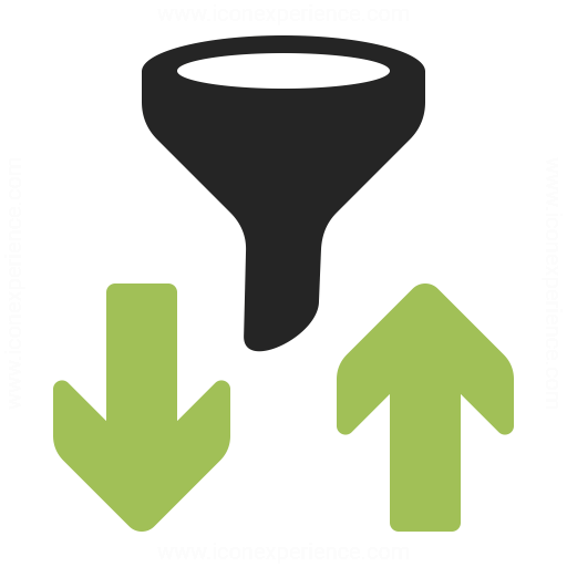 Filter And Sort Icon Iconexperience
