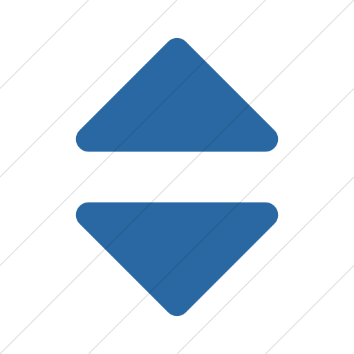 Simple Blue Bootstrap Font Awesome Sort Icon