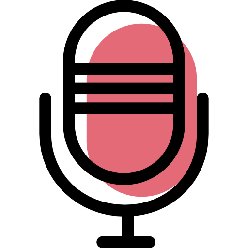 Microphone, Red, Music, Sound Icon Free Of Color Desktops