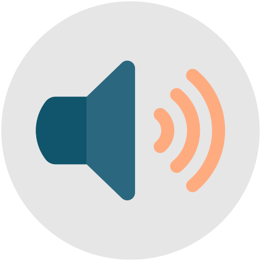 Sound On, Volume On, Speaker, Volume, Audio Icon