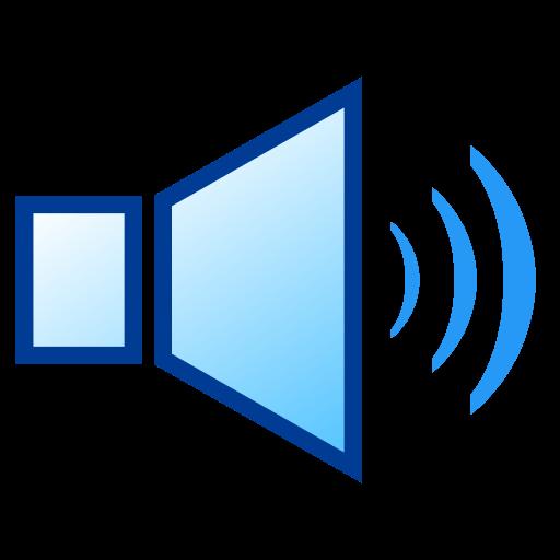 Speaker With Three Sound Waves Emoji For Facebook, Email Sms