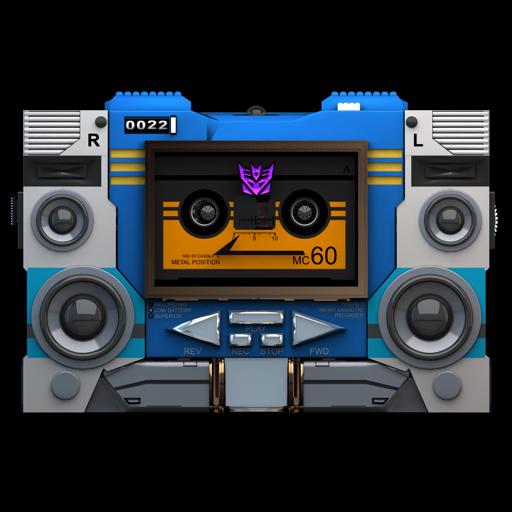 Transformers Soundwave Tape Front Icon Transformers Soundwave
