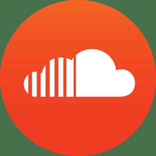 Circle Soundcloud Icon Transparent Png