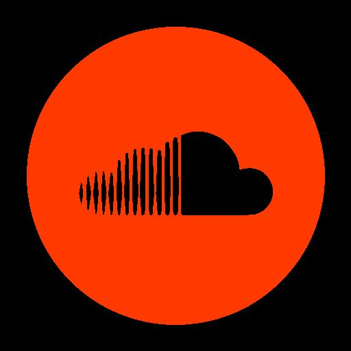 Social Media Soundcloud Glyph Icon