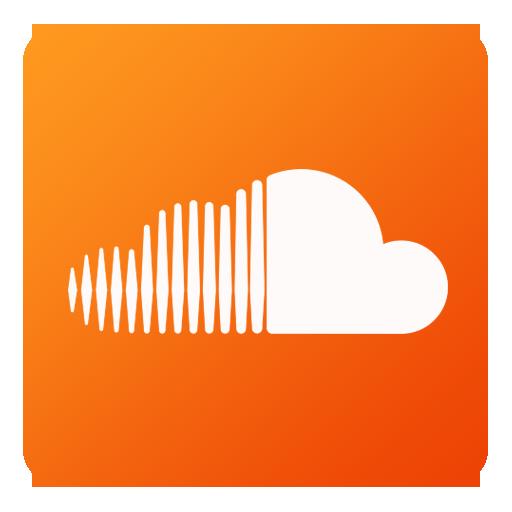 Soundcloud Icon Flat Gradient Social Iconset Limav