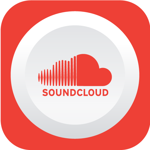 Soundcloud, Social Network Icon Free Of Rounded Flat Social Icons
