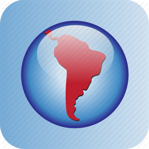 America, Argentina, Brasil, Continent, Country, Mex South