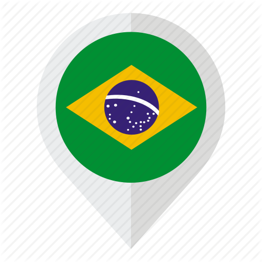 Brazil, Brazil Flag, Country, Flag, Geolocation, Map Marker, South