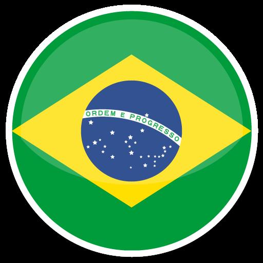 Brazil Icon Round World Flags Iconset Custom Icon Design