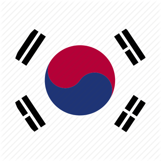 Flag, Korea, Korean, South, South Korea Icon