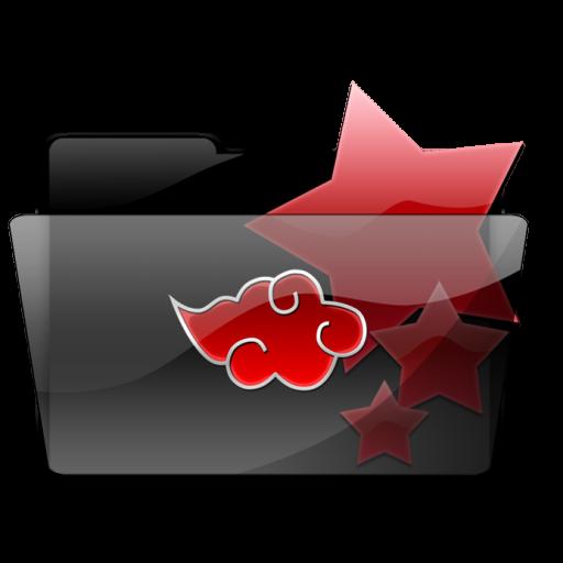 Favorites Akatsuki Folder Icon