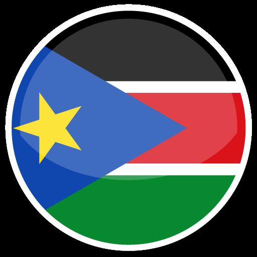South Sudan Icon Round World Flags Iconset Custom Icon Design
