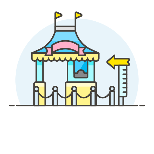 Amusement, Park Icon Free Of Stream Line Ux Free Pack Duetone Color