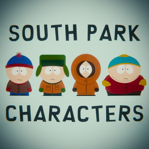 South Park Characters Pack Blend Swap