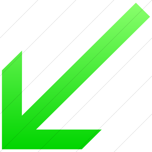 Simple Ios Neon Green Gradient Classic Arrows Simple