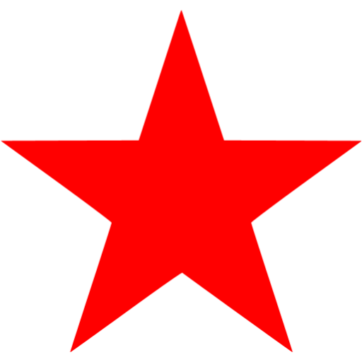 Red Star Png Images Free Download