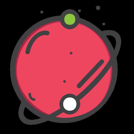 Space, Univearse, Telestial, Planet Icon